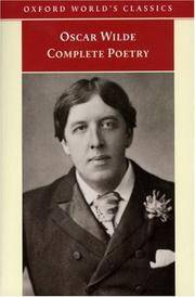 image of Complete Poetry (Oxford World's Classics)