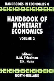 Handbook of Monetary Economics, Vol. 2