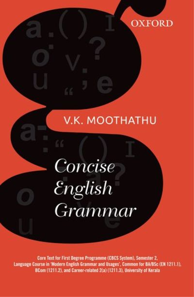 Concise English Grammar by V  K  Moothathu