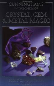 image of Cunningham's Encyclopedia of CRYSTAL, GEM & METAL MAGIC