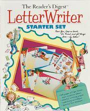LETTER WRITER STARTER SET : Have Fun, Keep in Touch, Be Heard, and Get Things Done --- By Letter!