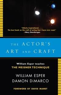 image of Actor's Art and Craft