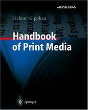 Handbook of Print Media by Unknown - Hardcover - 2001-09-21 - from BooksEntirely and Biblio.com