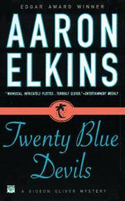 Twenty Blue Devils : a Gideon Oliver Mystery by  Aaron J Elkins - Paperback - First Paperback Edition 1st Printing - 1997 - from Wally's books (SKU: 012721)