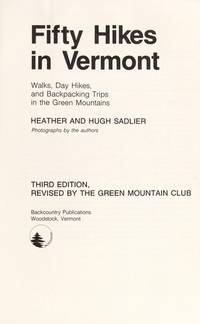Fifty Hikes In Vermont