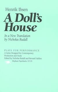 A Doll's House. [Plays For Performance - paperback].