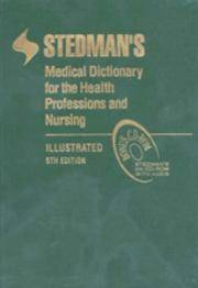image of Stedman's Medical Dictionary for the Health Professions and Nursing, Illustrated (Stedman's Medical Dictionary for the Health Professions & Nursing)