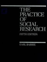 The practice of social research, 5th edition