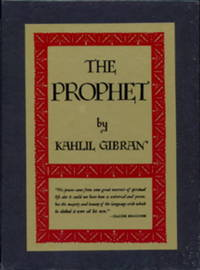 The Prophet: Deluxe Edition by  Kahlil Gibran - Hardcover - 1952-06-27 - from BooksEntirely (SKU: 4298818)