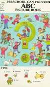 image of ABC Picture Book (Preschool Can Your Find) Tallarico, Tony