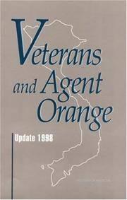 Veterans and Agent Orange: Update 1998