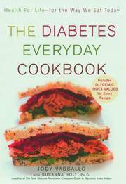 The Diabetes Everyday Cookbook  Health for Life -- for the Way We Eat Today
