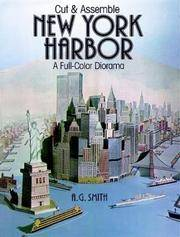 Cut and Assemble New York Harbor : A Full-Color Diorama