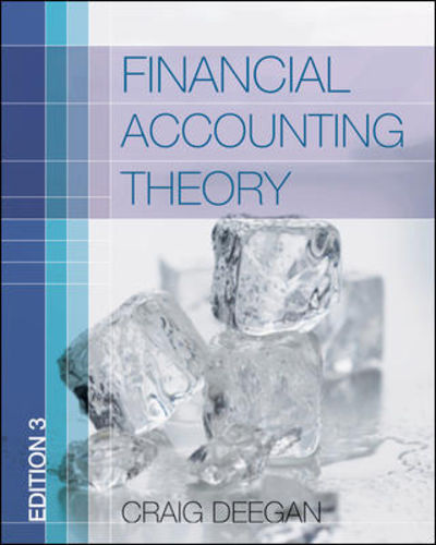 financial accounting theory by craig deegan 2009. Black Bedroom Furniture Sets. Home Design Ideas