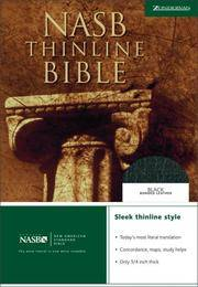 NEW AMERICAN STANDARD BIBLE (NASB) THINLINE BIBLE (in original box, still in publisher's...