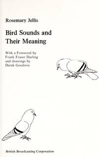 Bird Sounds and Their Meanings