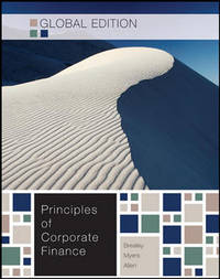 Principles of Corporate Finance - Global Edition W/connect plus by Richard A Brealey - Paperback - 2010 - from Anybook Ltd and Biblio.com