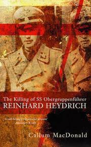 The Killing of S S Obergruppenfuhrer - Reinhard Heydrich