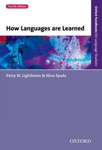 image of How Languages are Learned: Oxford Handbooks for Language Teachers