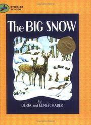 The Big Snow (Stories to Go!)