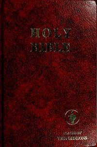 THE HOLY BIBLE CONTAINING THE OLD TESTAMENT AND THE NEW TEXTAMENT OF OUR  LORD AND SAVIOUR JESUS CHRIST