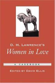 D.H. Lawrence's Women In Love - Used Books