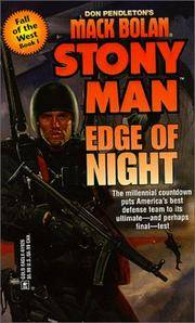 Edge Of Night (Stonyman, 42 : Fall of the West Book 1)