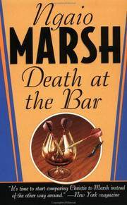image of Death at the Bar (Dead Letter Mysteries)