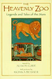 image of The Heavenly Zoo: Legends and Tales of the Stars (Sunburst Book)