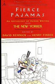 image of Fierce Pajamas: An Anthology of Humor Writing from the New Yorker