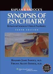 KAPLAN AND SADOCKS SYNOPSIS OF PSYCHIATRY BEHAVIORAL SCIENCES CLINICAL PSYCHIATRY 10ED (PB 2007) (O)