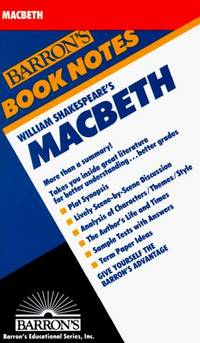 William Shakespeare's Macbeth (Barron's Book Notes) by Robert Owens Scott  - Paperback  - 1984-11-01  - from Ergodebooks (SKU: DADAX0812034279)