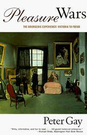 image of Pleasure Wars: The Bourgeois Experience: Victoria to Freud