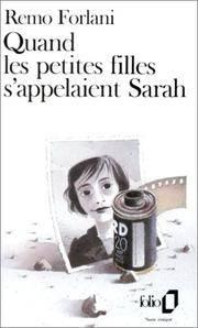 Quand Les Petites Filles Sappelaient Sarah