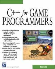 C++ For Game Programmers (Charles River Media Game Development) by  Noel Llopis - Paperback - 1 - 2003-04-01 - from Bacobooks (SKU: K-804-234)
