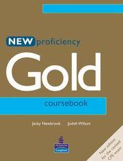 NEW PROFICIENCY GOLD COURS BOOK