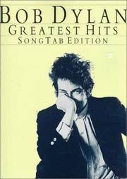 image of BOB DYLAN GREATEST HITS  Song Tab Edition