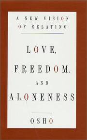 image of Love, Freedom, and Aloneness : A New Vision of Relating