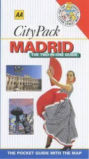 AA CityPack Madrid (AA CityPack Guides)
