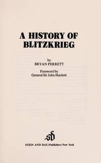 A History Of Blitzkrieg
