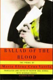 Ballad of the Blood : The Poems of Maria Elena Cruz Varela