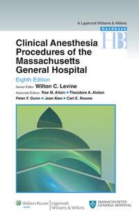 H/B Clin Anesth Proc MGH