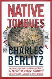 Native Tongues by  Charles Berlitz  - Hardcover  - from Better World Books  (SKU: 7644701-6)