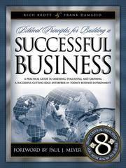Biblical Principles/Building Successful Business