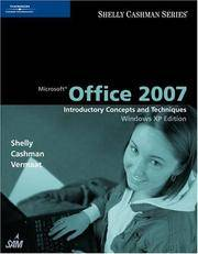 image of Microsoft Office 2007: Introductory Concepts and Techniques, Windows XP Edition