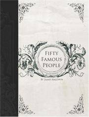 image of Fifty Famous People: A Book of Short Stories