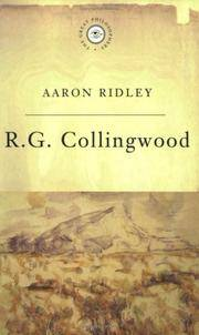 R G Collingwood (Great Philosophers)