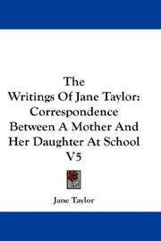 The Writings Of Jane Taylor