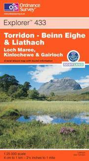 image of Torridon - Beinn Eighe and Liathach (OS Explorer Map Active)