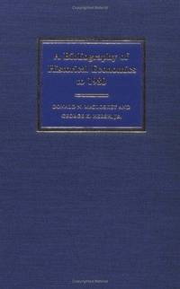 A Bibliography of Historical Economics to 1980
